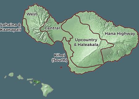 Maui Regions Guide