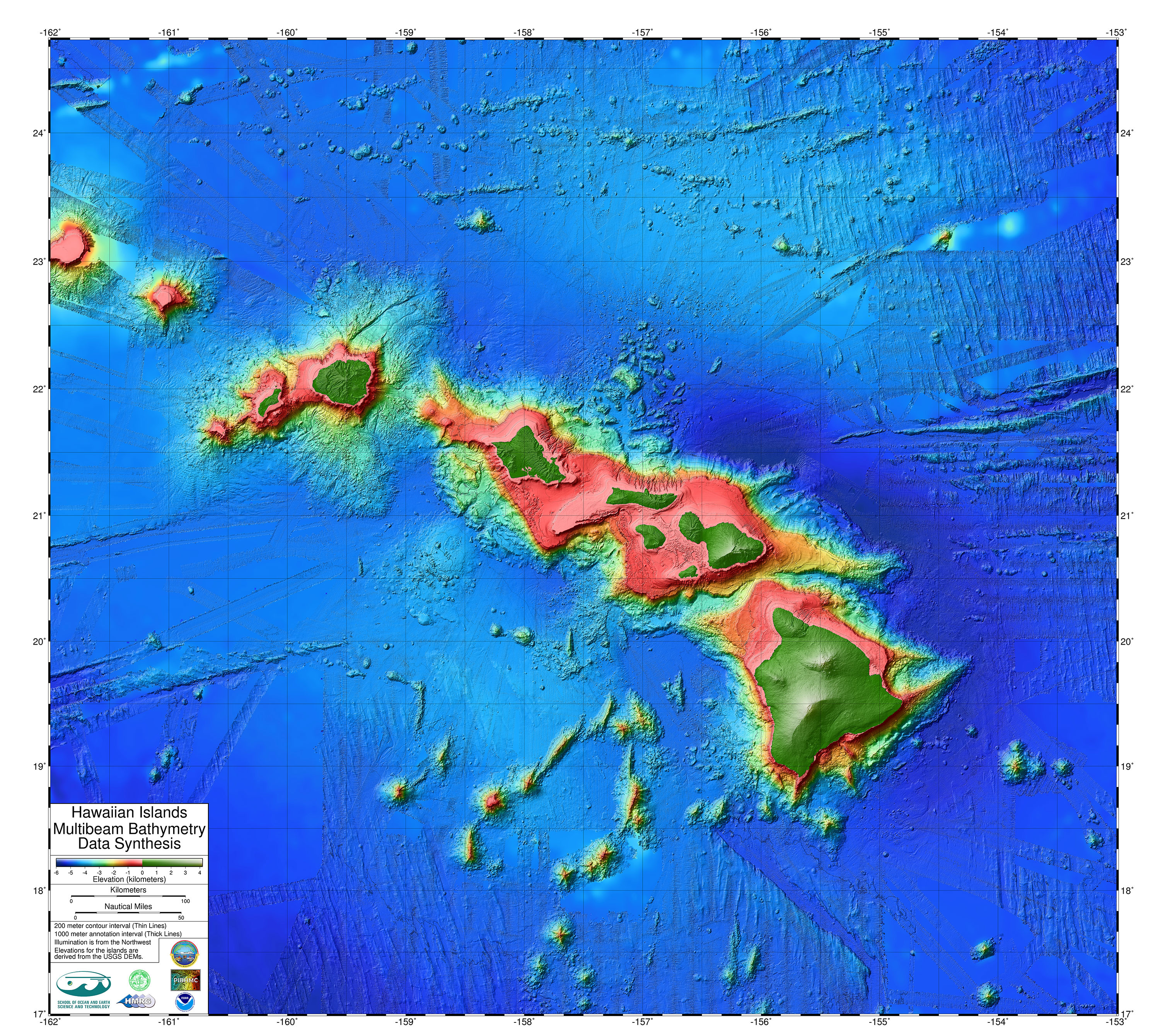 Hawaii Travel Maps