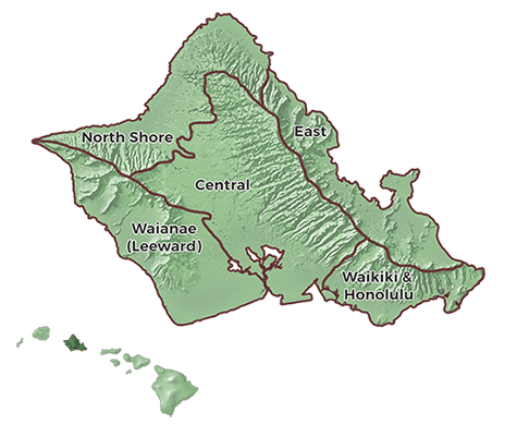 Oahu Regions Guide Image