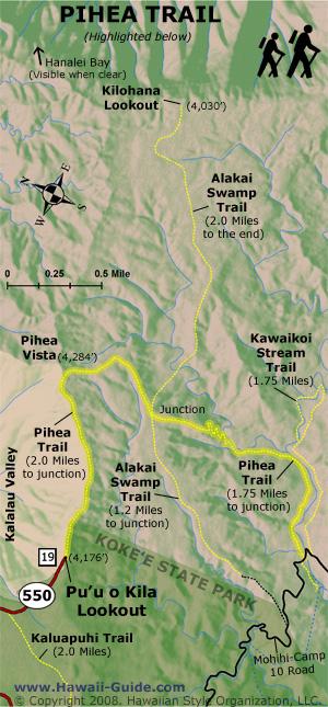 Alakai Swamp Trail | Kauai Hawaii on clifty falls state park trail map, waimea canyon state park map, anza-borrego state park trail map, na pali coast kauai trail map, na pali coast state park map, watoga state park trail map, lake norman state park trail map, cunningham falls state park trail map, cherry creek state park trail map, castle rock state park trail map, waimea canyon trail map, high point state park trail map, shawnee state forest backpack trail map, hanalei trail map, brown county state park trail map, canaan valley state park trail map, nockamixon state park trail map, oak mountain state park trail map, iao valley state park trail map, kalalau trail trail map,