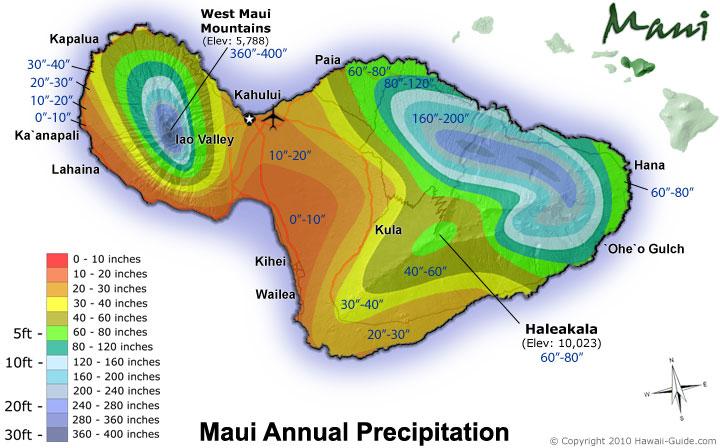 Maui Weather Map 100+ Maui Precipitation Map – yasminroohi