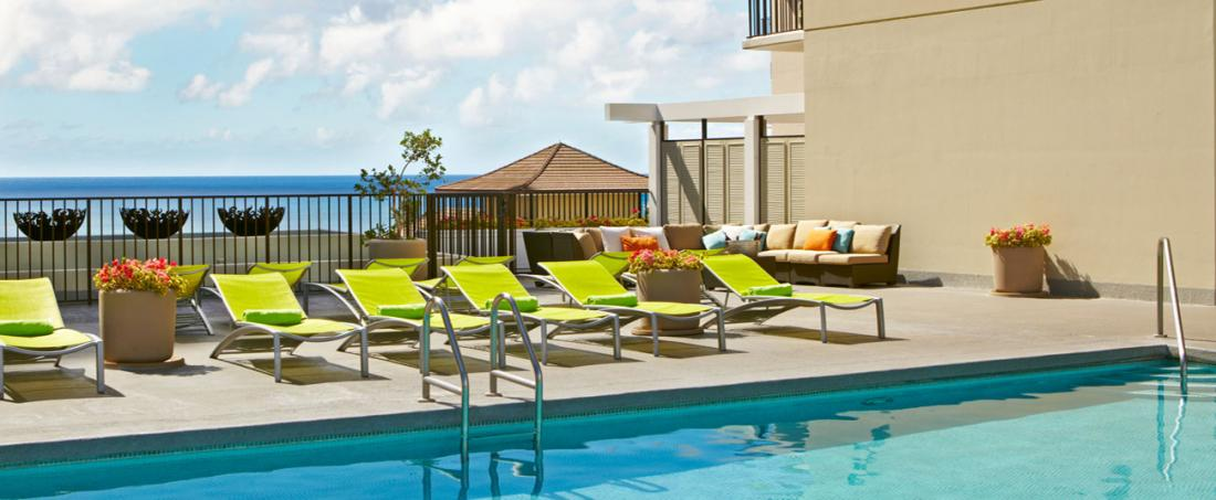 Soak in the rays at Parc Blue