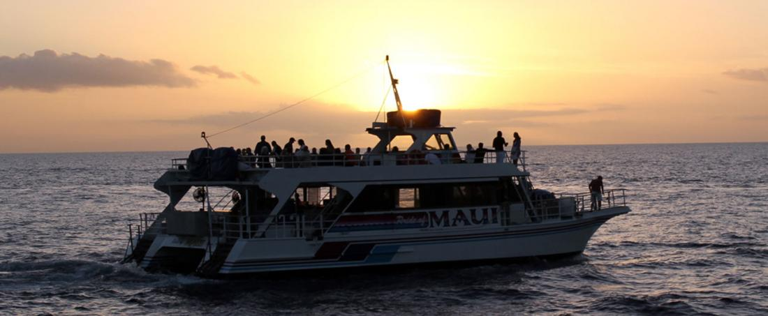 Enjoy your day exploring Molokini aboard the Pride of Maui