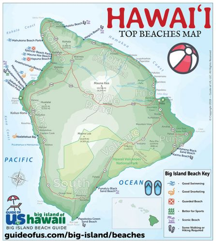 Big Island Beaches: Big Island Beach Guide + 10 Best Beaches On Big Island Hawaii