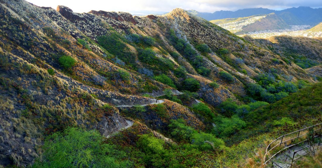 The Hiking Trails of Diamond Head Crater