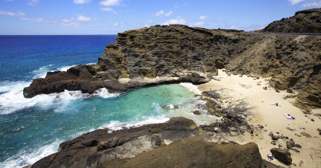Take a tour to stop by and see the Halona Blowhole