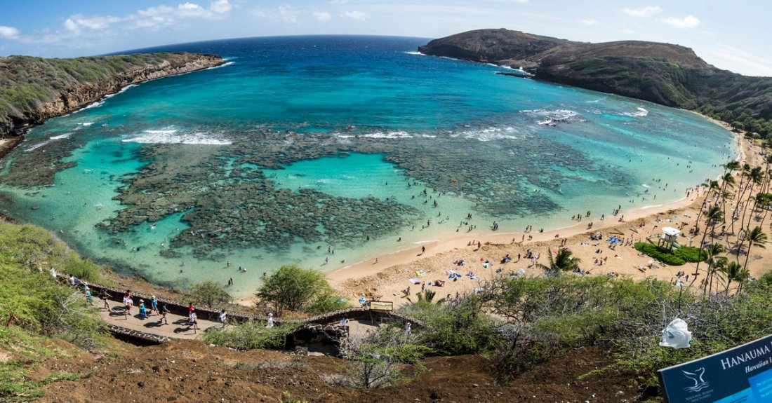 Hanauma Bay, the gateway to Heaven