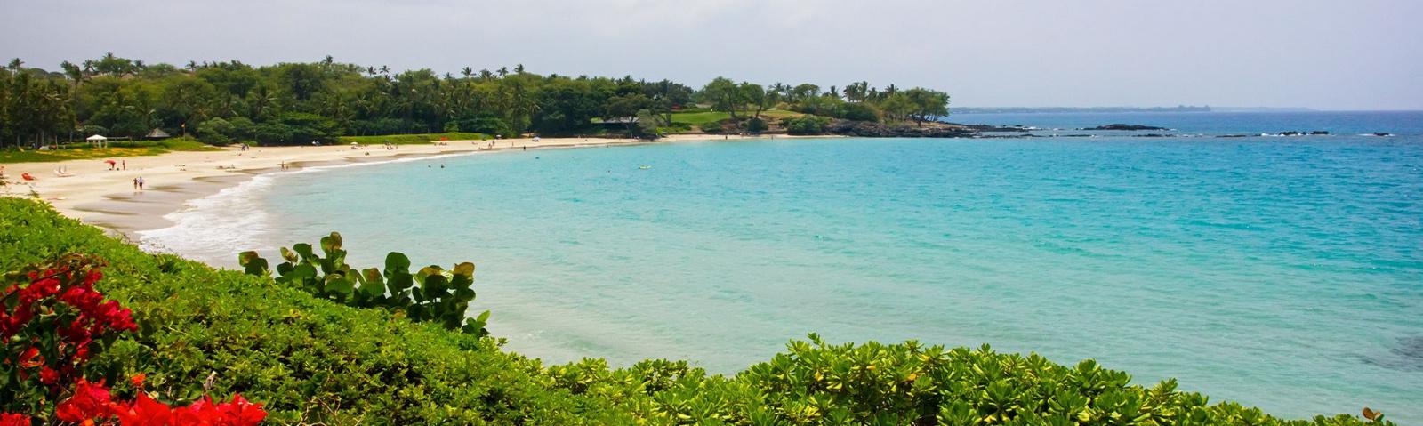 Hapuna Beach State Park Island Hawaii