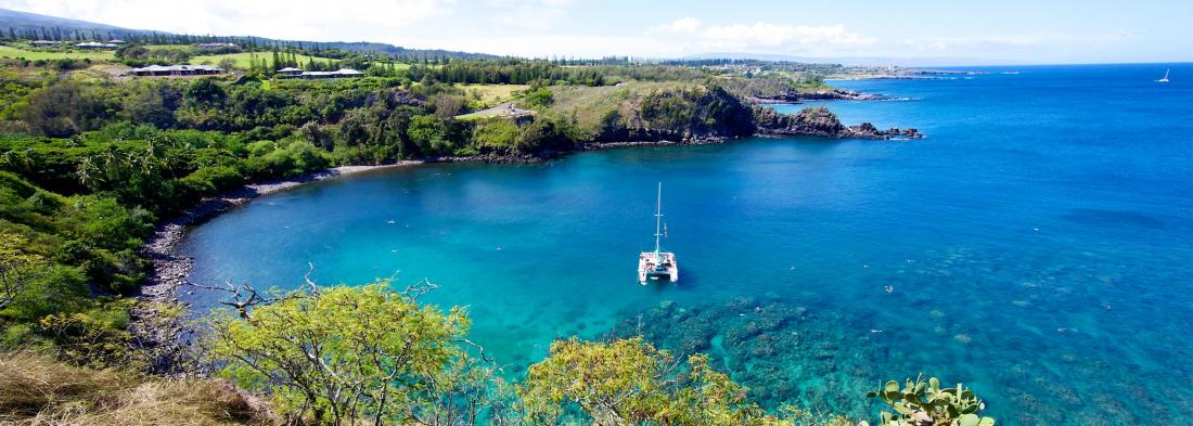 Honolua Bay is the perfect place for a day of fun on the water.