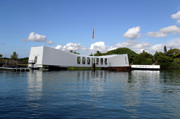 USS Arizona Memorial Image