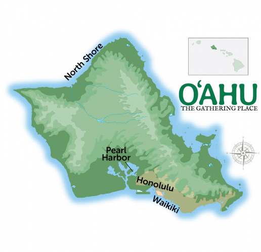 Oahu Travel Guide Map