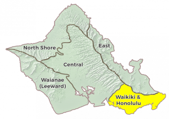 Waikiki & Honolulu Region Image