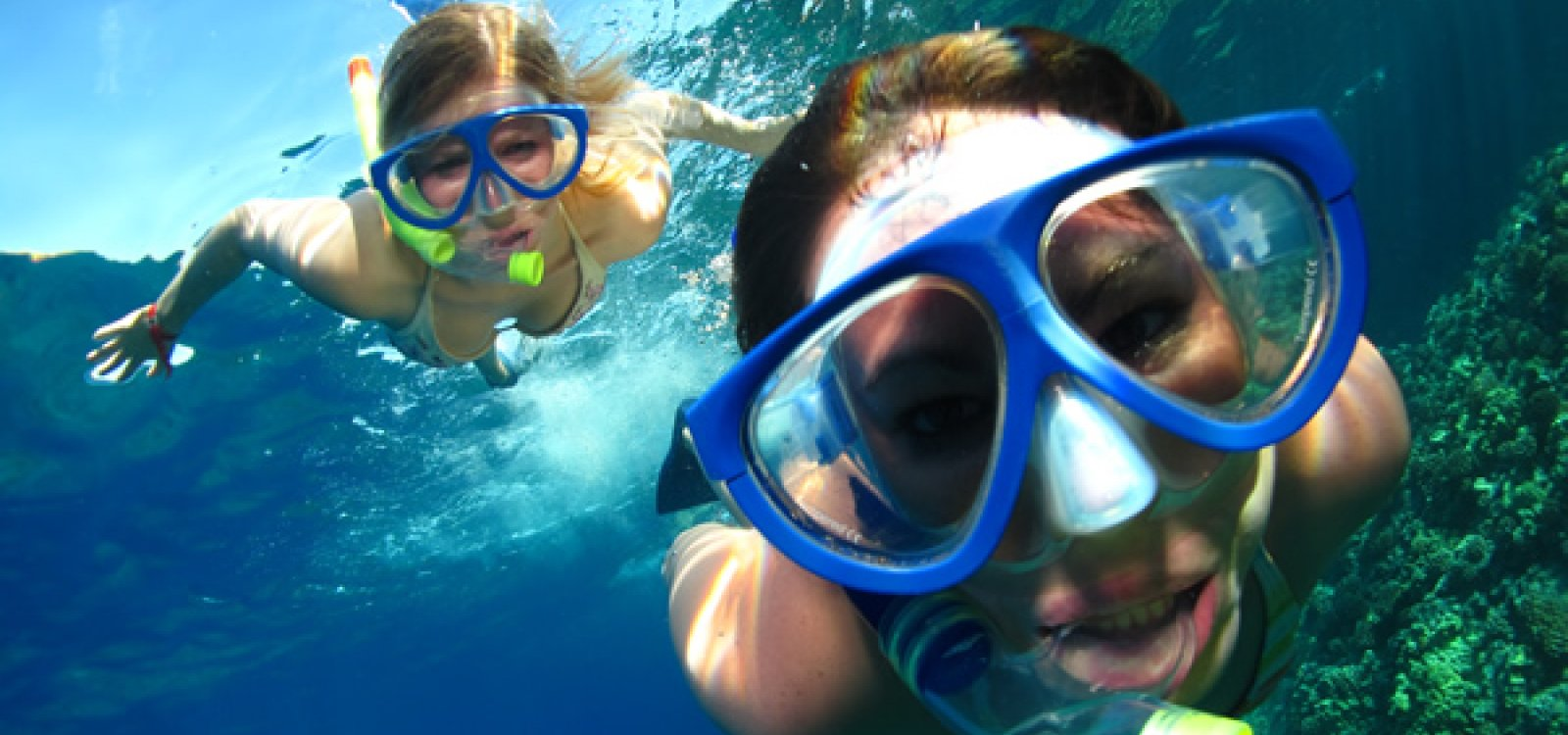 Underwater experience while taking a Molokini snorkel