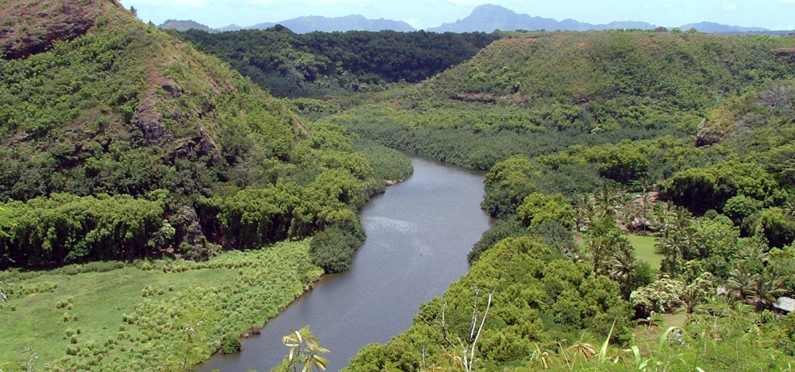 Kamokila Hawaiian Village Kauai Hawaii