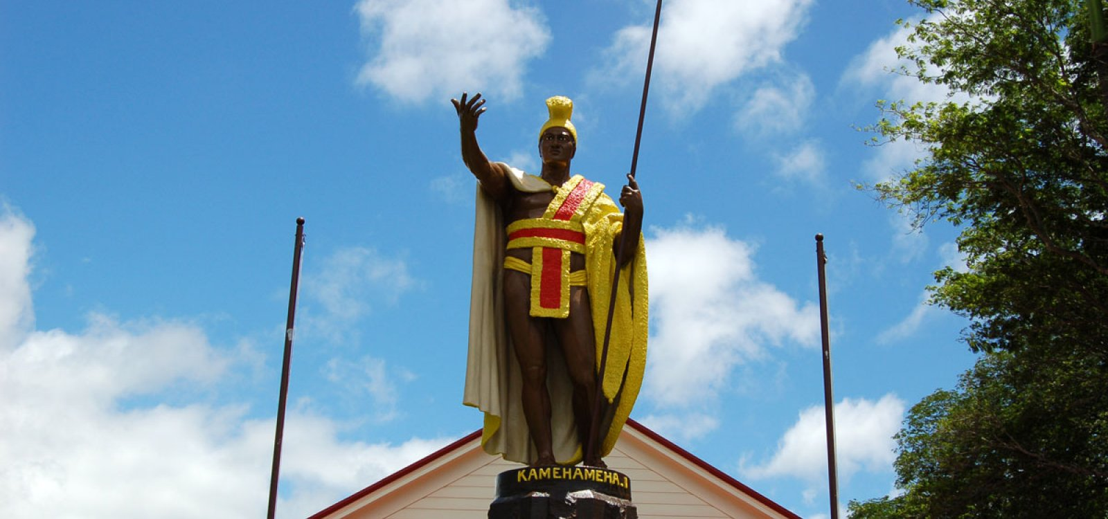 King Kamehameha Statue Big Island Of Hawaii