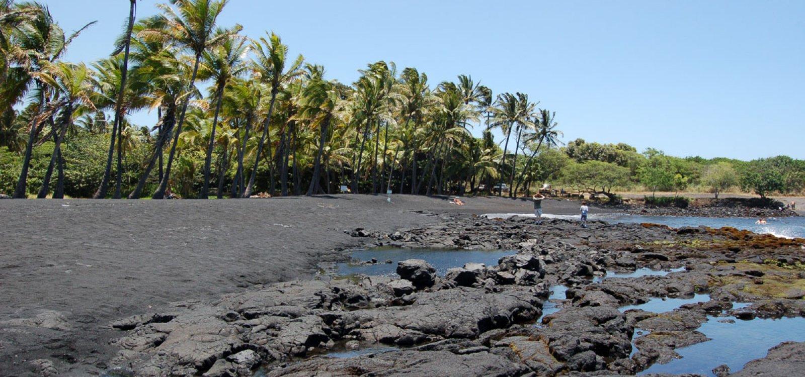 Punaluu Black Sand Beach Photo Gallery