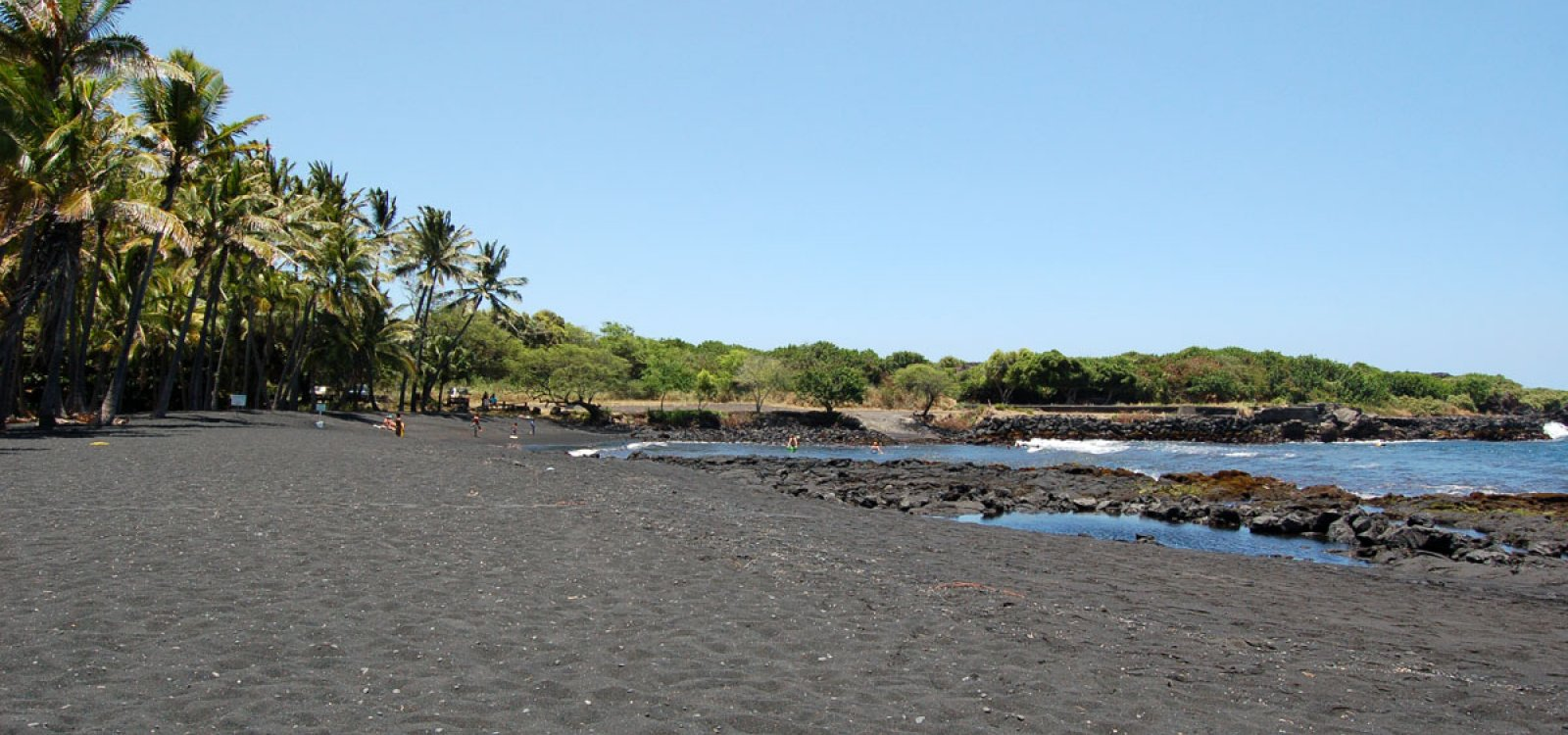Punaluu Black Sand Beach Photo Gallery