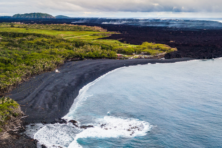 Puna Big Island Beaches Guide Image
