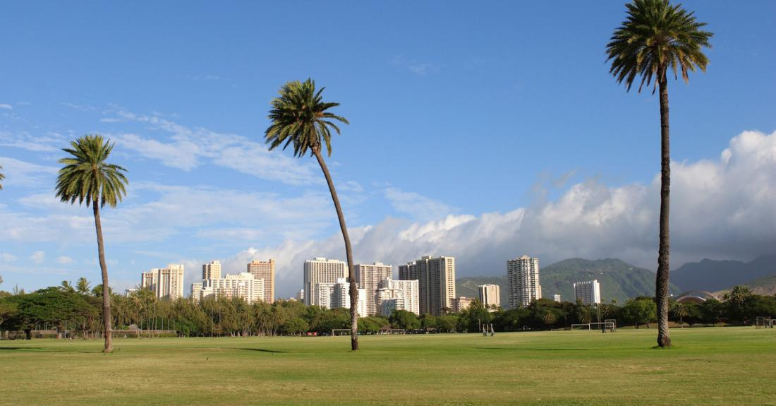 Enjoy some quiet time at Kapiolani Park