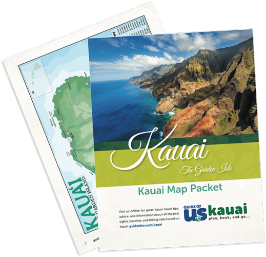 Updated Kauai Travel Map Packet