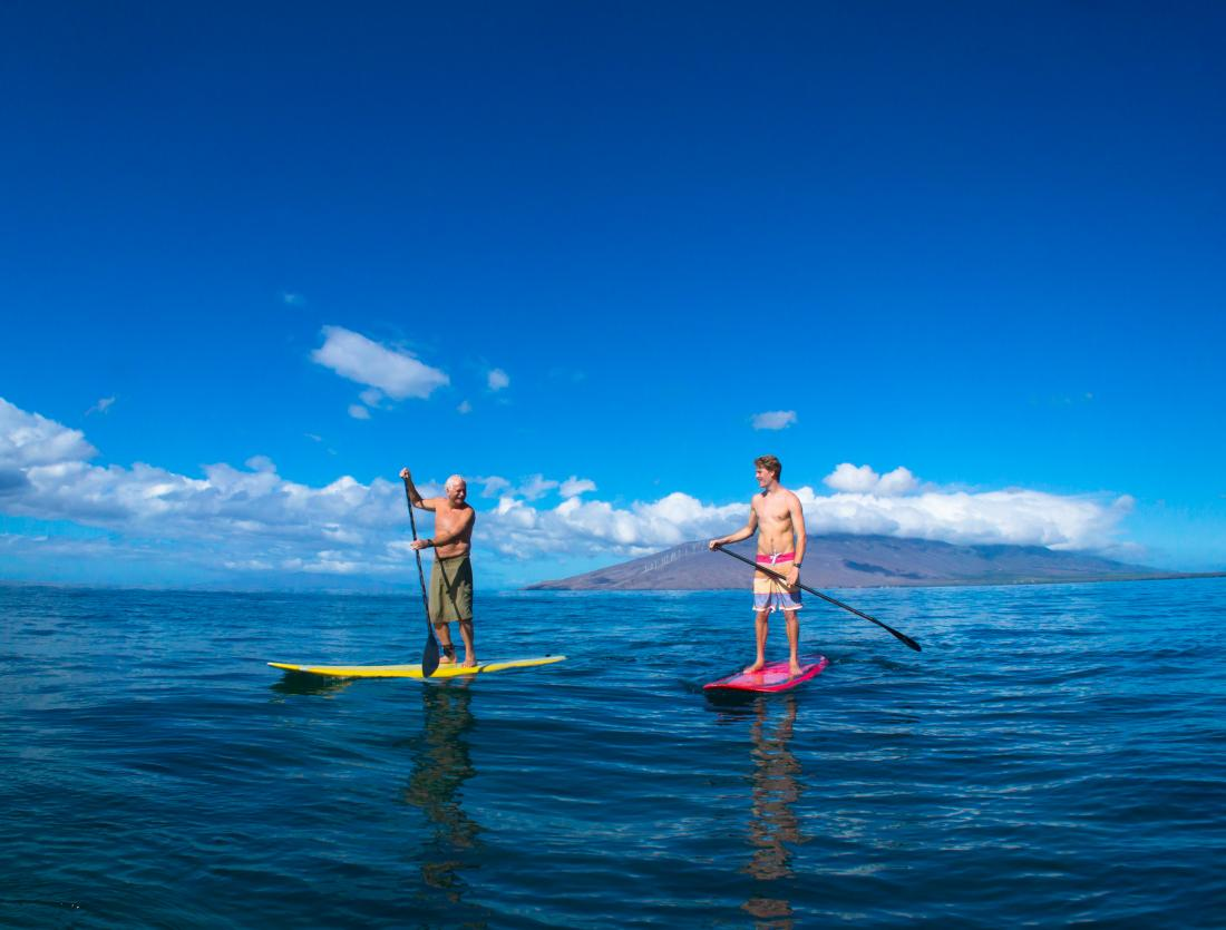 SUP is the perfect ocean adventure for all skill levels