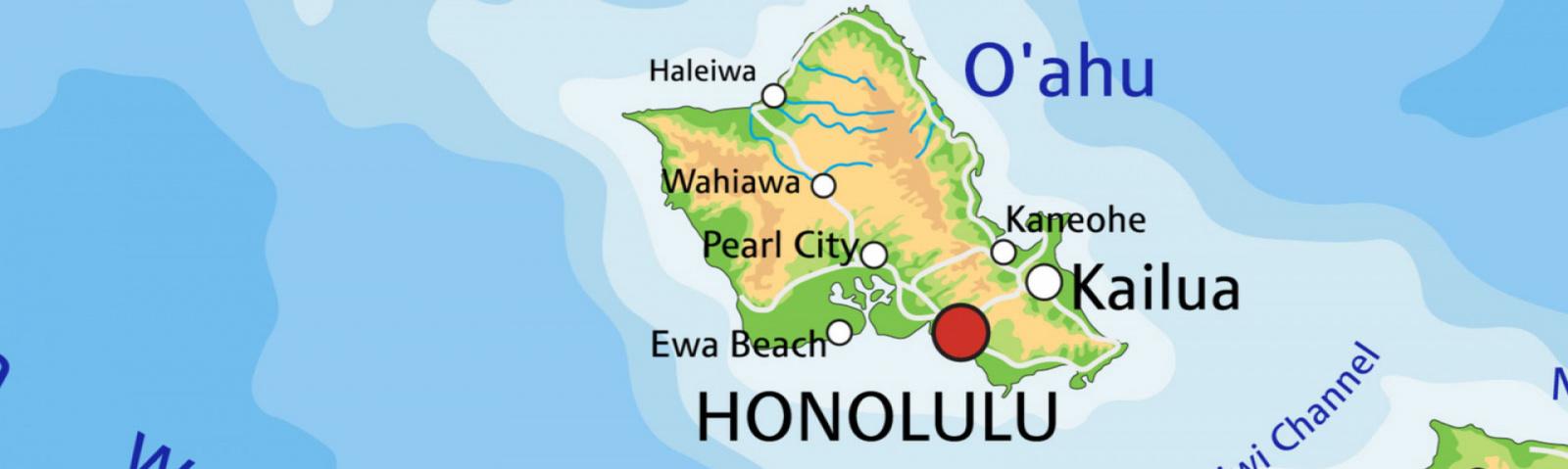 Oahu Maps