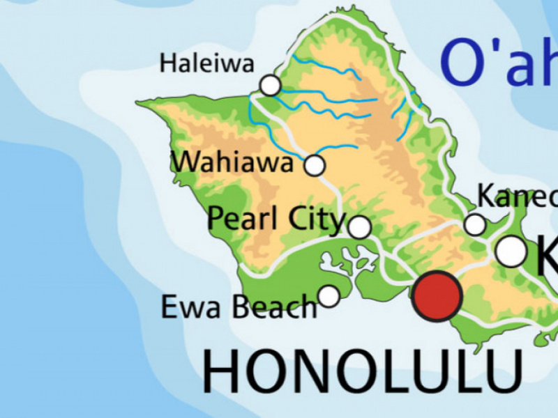 photo relating to Oahu Map Printable referred to as Oahu Maps