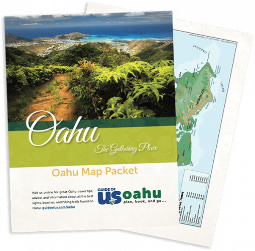 Updated Oahu Travel Map Packet