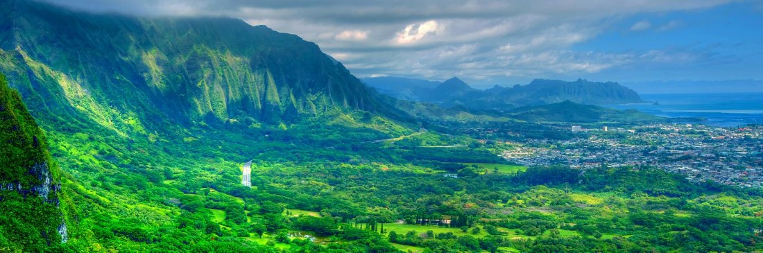 Pali Overlook on Oahu