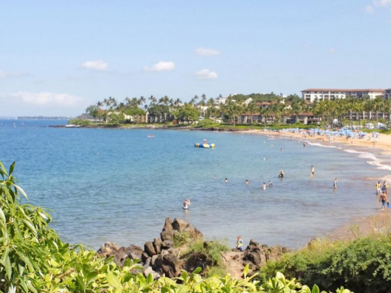 White Rocks Beach Maui Hawaii