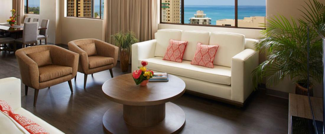 Views from the Penthouse at Vive Hotel Waikiki