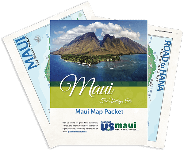 Updated Maui Travel Map Packet