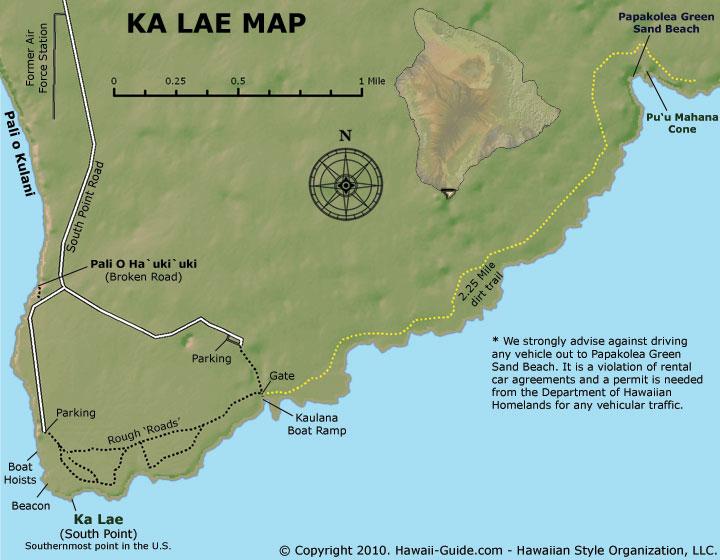 South Point At Ka Lae Photos Map Amp Directions