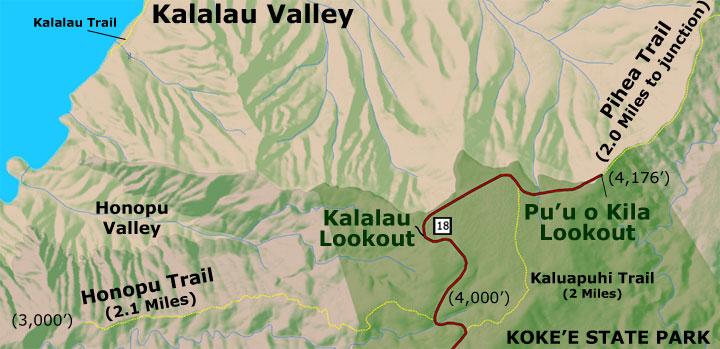 Kalalau Lookout Photos Map Amp Directions